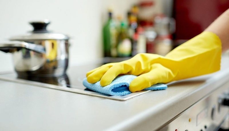 Image result for cleaning kitchen
